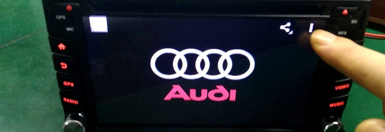 Les modèles d'autoradios GPS Audi